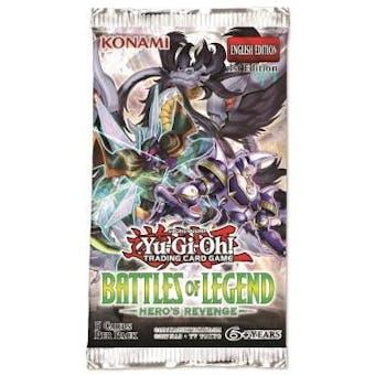 Yu-Gi-Oh Battles of Legend: Hero's Revenge Booster Pack