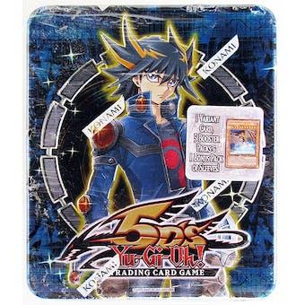 Konami Yu-Gi-Oh 2009 Yusei Fudo Collectible Tin