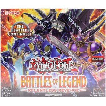 Yu-Gi-Oh Battles of Legend: Relentless Revenge Booster Box