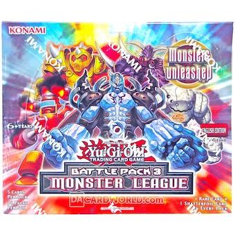 Konami Yu-Gi-Oh Battle Pack 3: Monster League Booster Box