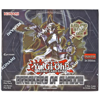 Yu-Gi-Oh Breakers of Shadow 1st Edition Booster Box
