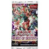 Yu-Gi-Oh Burst Of Destiny Booster 12-Box Case (Presell)