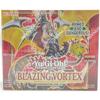 Yu-Gi-Oh Blazing Vortex Booster Box