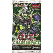 Yu-Gi-Oh Chaos Impact Booster Pack