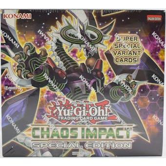 Yu-Gi-Oh Chaos Impact Special Edition Box