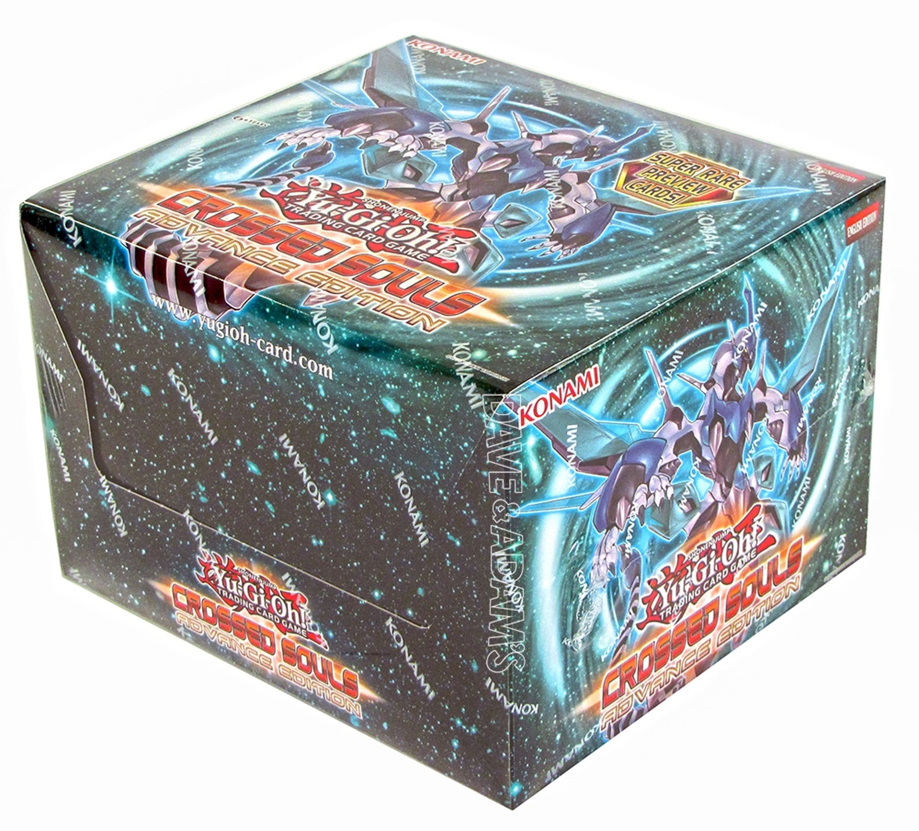 Konami Yu-Gi-Oh Crossed Souls: Advance Edition Box