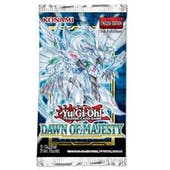 Yu-Gi-Oh Dawn of Majesty Booster Pack