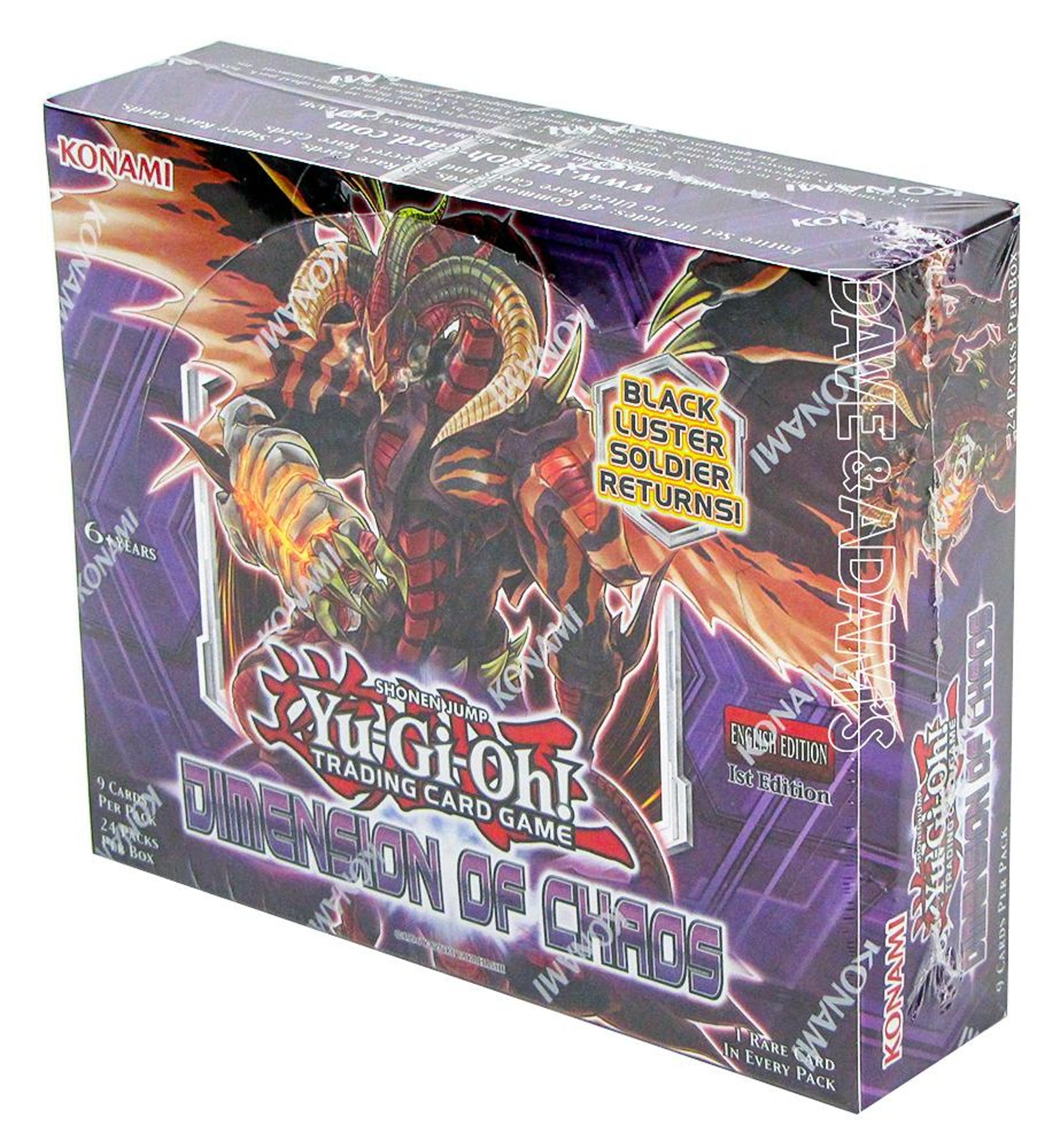 Yu-Gi-Oh Dimension Of Chaos 1st Edition Booster Box