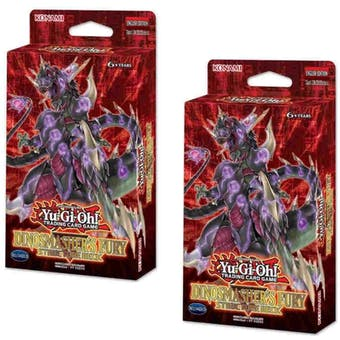 Yu-Gi-Oh Dinosmasher's Fury Unlimited Structure Deck (Presell)