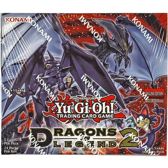 Yu-Gi-Oh Dragons of Legend Series 2 1st Edition Booster Box