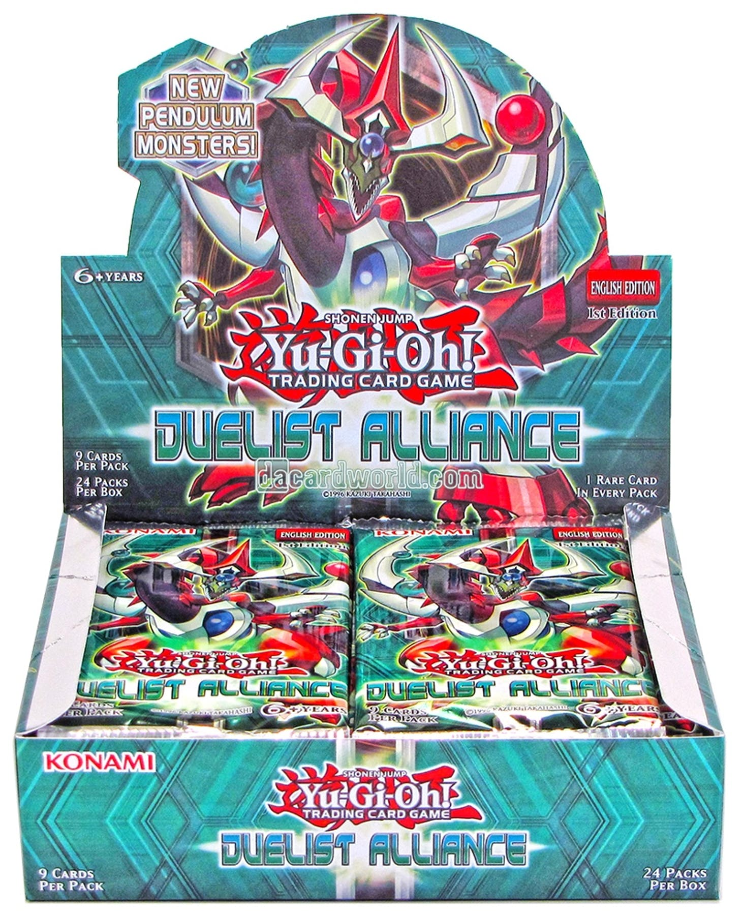 Yu-Gi-Oh Duelist Alliance 1st Edition Booster Box