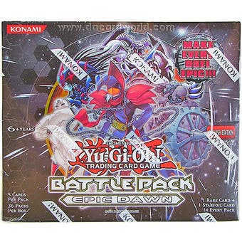 Yu-Gi-Oh Battle Pack Epic Dawn 1st Edition Booster Box