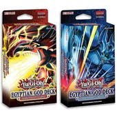 Yu-Gi-Oh Egyptian God Deck - Set of 2 (Presell)