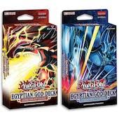 Yu-Gi-Oh Egyptian God Deck 12-Box Case (Presell)