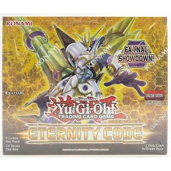 Yu-Gi-Oh Eternity Code Booster Box
