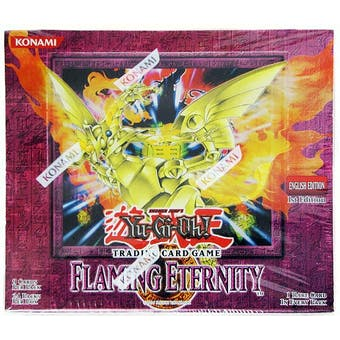 Upper Deck Yu-Gi-Oh Flaming Eternity 1st Edition Booster Box