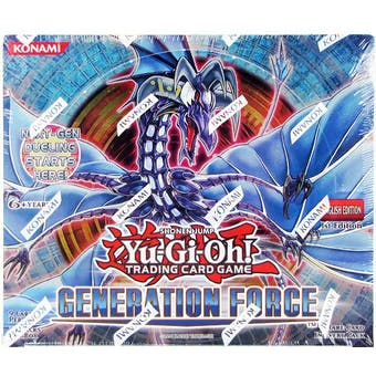 Yu-Gi-Oh Generation Force Booster Box 1st Edition