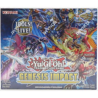 Yu-Gi-Oh Genesis Impact Booster Box