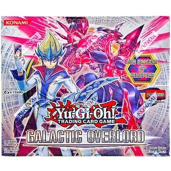 Konami Yu-Gi-Oh Galactic Overlord Booster Box 1st Edition