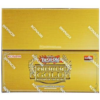 Yu-Gi-Oh Premium Gold: Return of the Bling Booster Box