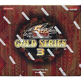 Konami Yu-Gi-Oh Gold Series 3 Booster Box