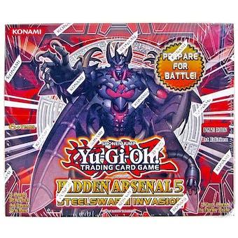 Yu-Gi-Oh Hidden Arsenal 5: Steelswarm Invasion Booster Box
