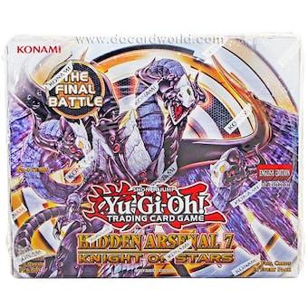 Yu-Gi-Oh Hidden Arsenal 7: Knight of Stars Booster Box 1st Edition