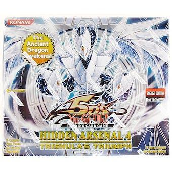Yu-Gi-Oh Hidden Arsenal 4: Trishula's Triumph Booster Box