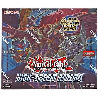 Yu-Gi-Oh High-Speed Riders Booster Box