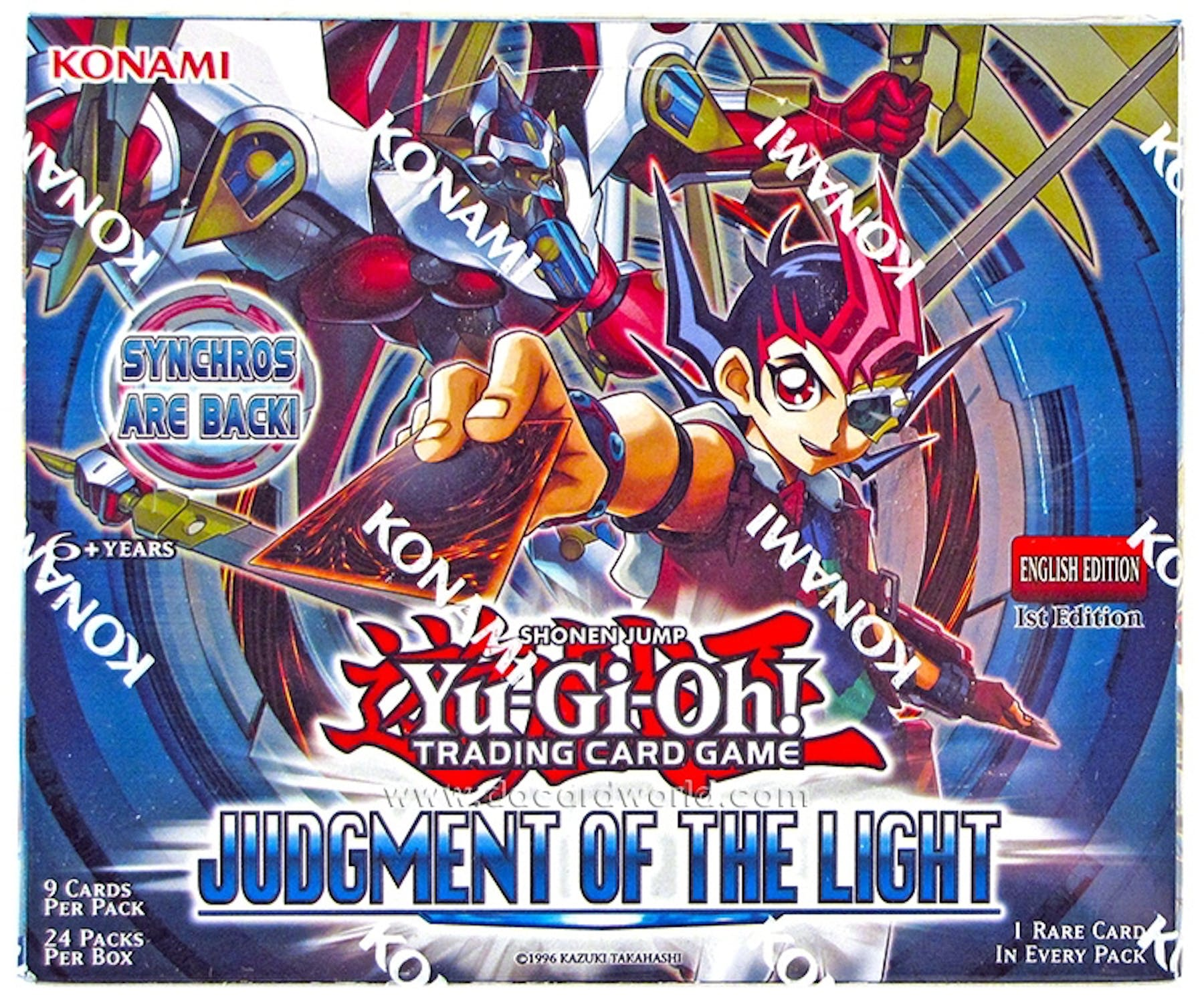 Yu-Gi-Oh Judgment Of The Light 1st Edition Booster Box
