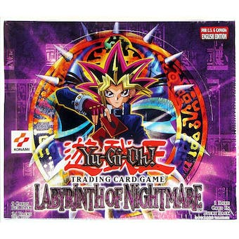 Upper Deck Yu-Gi-Oh Labyrinth of Nightmare Unlimited Booster Box (24-Pack) LON