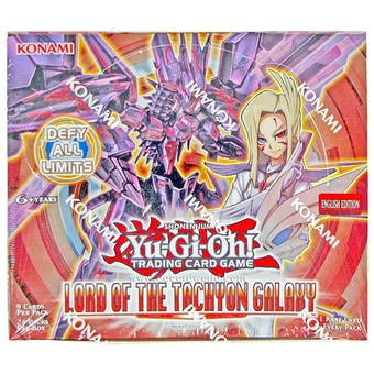 Yu-Gi-Oh Lord of the Tachyon Galaxy 1st Edition Booster Box