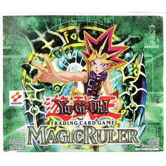 Upper Deck Yu-Gi-Oh Magic (Spell) Ruler 1st Edition Booster Box (24-Pack) MRL SRL