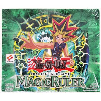 Upper Deck Yu-Gi-Oh Magic (Spell) Ruler Unlimited Booster Box (24-Pack) MRL SRL