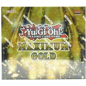 Yu-Gi-Oh Maximum Gold Booster Box