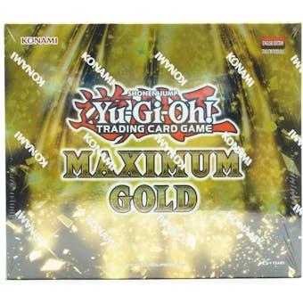 Yu-Gi-Oh Maximum Gold Booster Box
