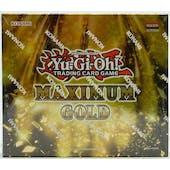 Yu-Gi-Oh Maximum Gold Booster Mini-Box
