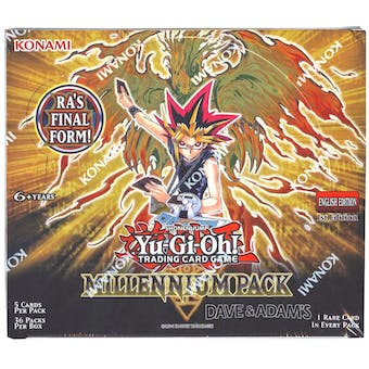Yu-Gi-Oh Millennium Pack 1st Edition Booster Box