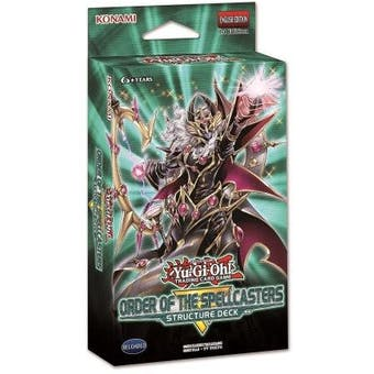 Yu-Gi-Oh Order of the Spellcasters Structure Deck Box