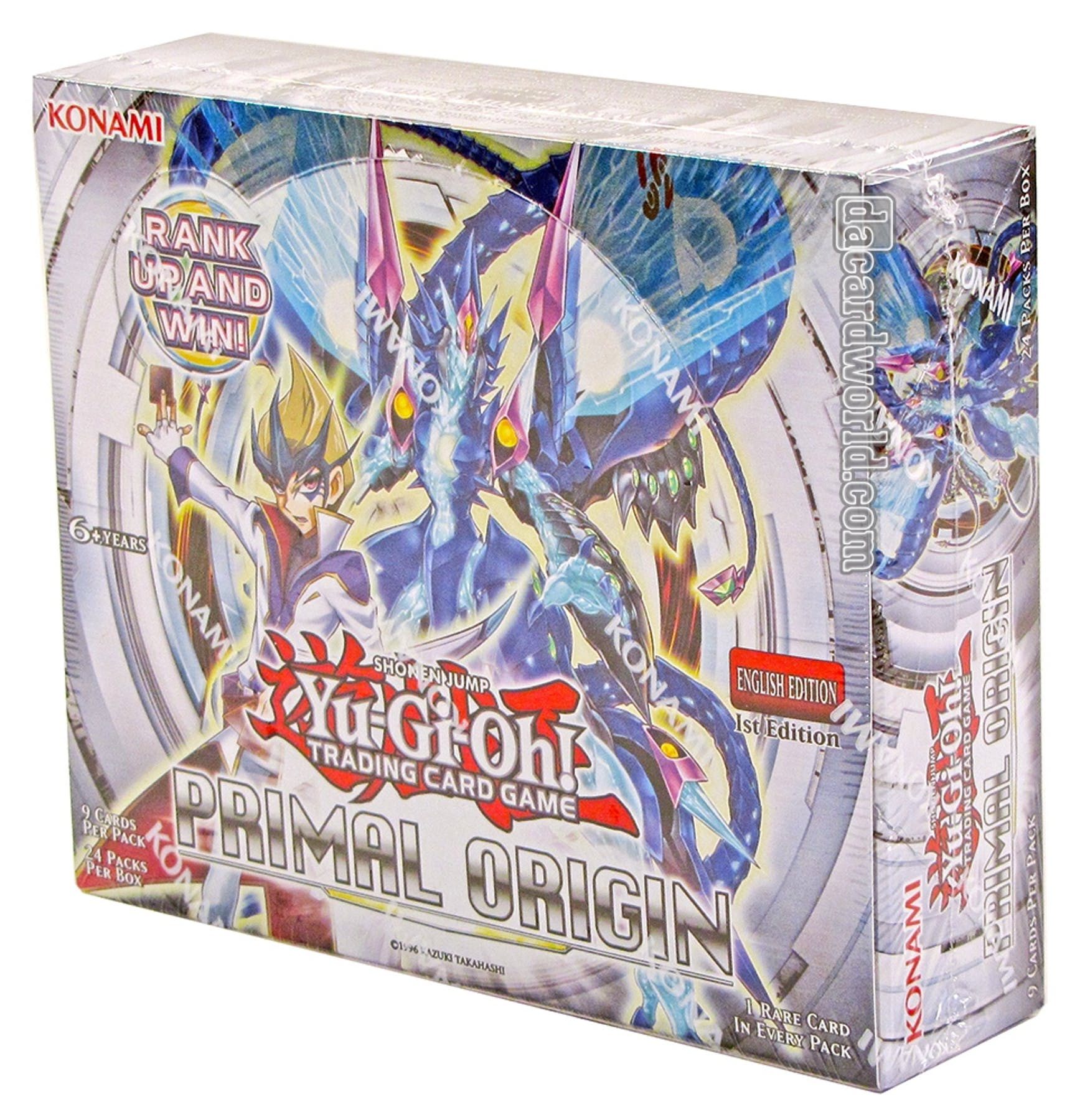 Yu-Gi-Oh Primal Origin 1st Edition Booster Box