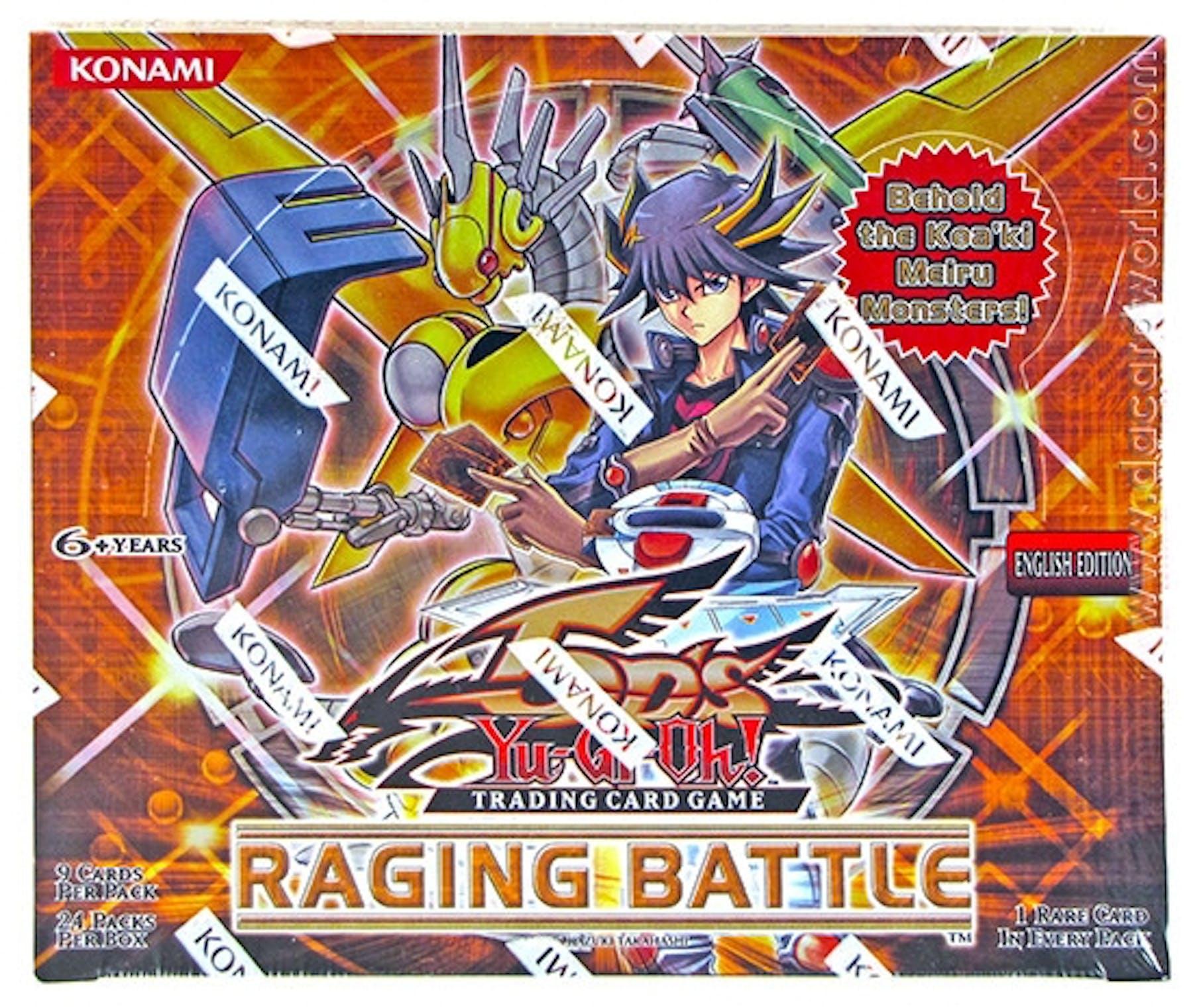 Yu-Gi-Oh Raging Battle Booster Box