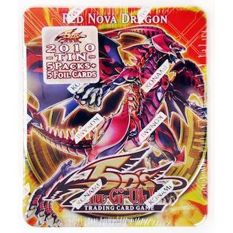 Konami Yu-Gi-Oh 2010 Collectible Tins Wave 2 Red Nova Dragon Tin