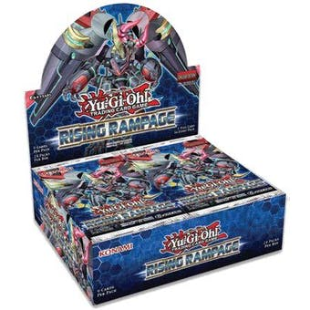 Yu-Gi-Oh Rising Rampage Booster Box