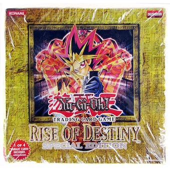 Upper Deck Yu-Gi-Oh Rise of Destiny Special Edition Box
