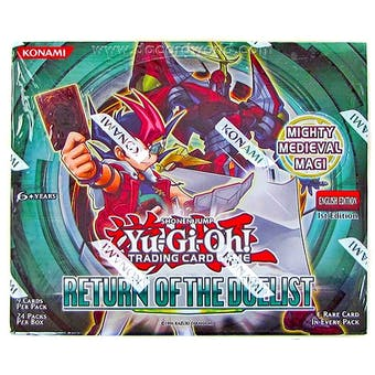 Yu-Gi-Oh Return of the Duelist Booster Box 1st Edition