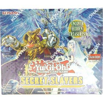 Yu-Gi-Oh Secret Slayers Booster Box