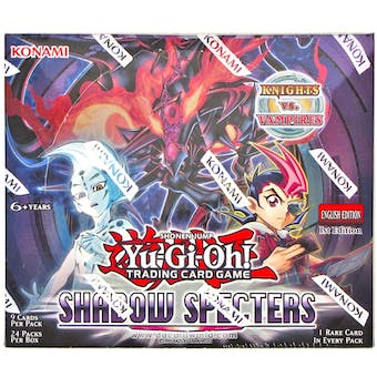 Yu-Gi-Oh Shadow Specters 1st Edition Booster Box