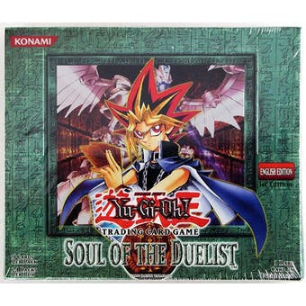 Yu-Gi-Oh Soul of the Duelist 1st Edition Booster Box