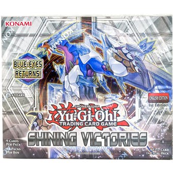 Yu-Gi-Oh Shining Victories 1st Edition Booster Box