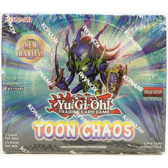 Yu-Gi-Oh Toon Chaos 1st Edition Booster Box